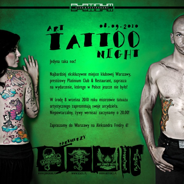 Art Tattoo Night